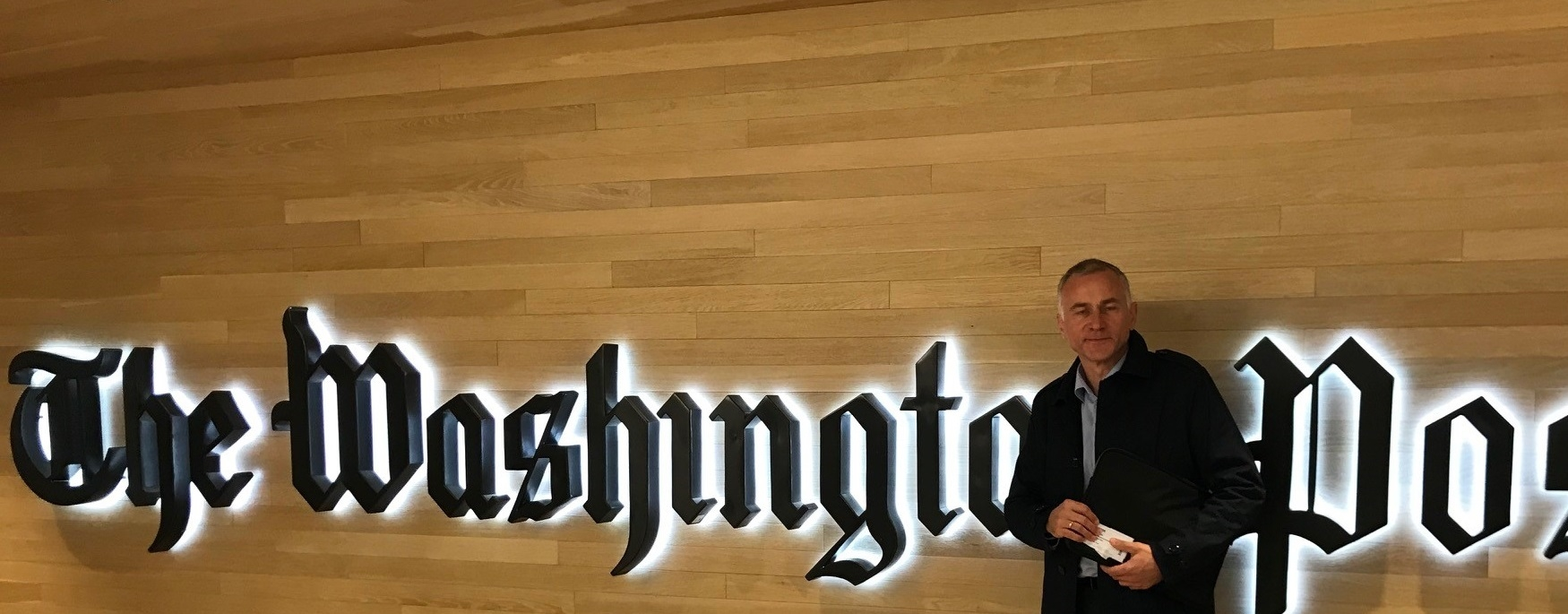 Tom Staavi i Washington Post. Foto.