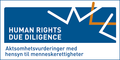 Human rights due diligence. LOGO.